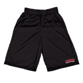 Midcourt Performance Black 11 Inch Game Short-Lamar University