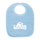 Baby Blue Bib-Lamar University w/Cardinal Head