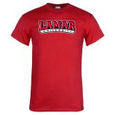 Red T Shirt-Wordmark