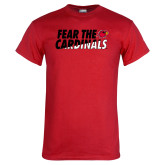 Red T Shirt-Fear The Cardinals