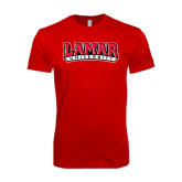 SoftStyle Red T Shirt-Lamar University
