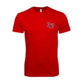 SoftStyle Red T Shirt-LU