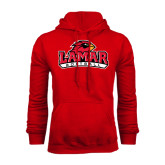 Champion Red Fleece Hood-Softball