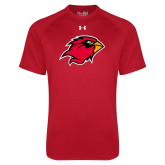 Under Armour Red Tech Tee-Cardinal Head