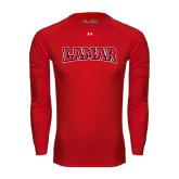 Under Armour Red Long Sleeve Tech Tee-Lamar