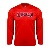 Syntrel Performance Red Longsleeve Shirt-Lamar