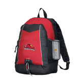 Impulse Red Backpack-Lamar University w/Cardinal Head
