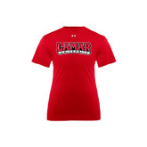 Under Armour Youth Red Tech Tee-Lamar University