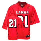 Under Armour Replica Red Adult Football Jersey-#21