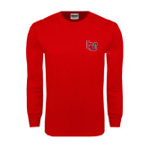 Red Long Sleeve TShirt-LU