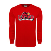 Red Long Sleeve TShirt-Basketball