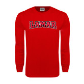 Red Long Sleeve TShirt-Lamar