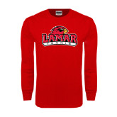 Red Long Sleeve TShirt-Tennis