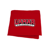 Red Sweatshirt Blanket-Lamar University