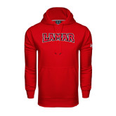 Under Armour Red Performance Sweats Team Hood-Lamar