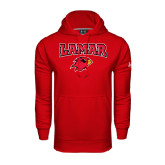 Under Armour Red Performance Sweats Team Hood-Lamar w/Cardinal Head