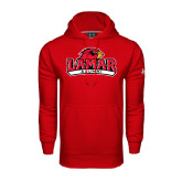 Under Armour Red Performance Sweats Team Hood-Alumni