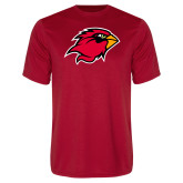 Syntrel Performance Red Tee-Cardinal Head