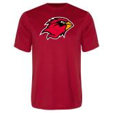 Performance Red Tee-Cardinal Head