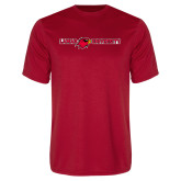 Syntrel Performance Red Tee-Lamar University Flat