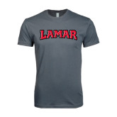 SoftStyle Charcoal T Shirt-Lamar