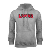 Grey Fleece Hood-Lamar