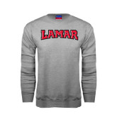 Grey Fleece Crew-Lamar