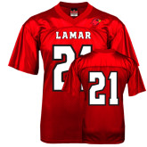 Replica Red Adult Football Jersey-#21