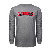 Grey Long Sleeve TShirt-Lamar