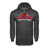 Under Armour Carbon Performance Sweats Team Hood-Lamar University w/Cardinal Head
