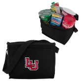 Six Pack Black Cooler-Interlocking LU