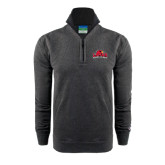 Champion Charcoal Fleece 1/4 Zip-Lamar University w/Cardinal Head