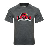 Under Armour Carbon Heather Tech Tee-Softball