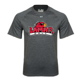 Under Armour Carbon Heather Tech Tee-Golf