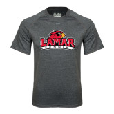 Under Armour Carbon Heather Tech Tee-Tennis
