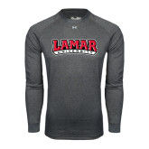 Under Armour Carbon Heather Long Sleeve Tech Tee-Lamar University