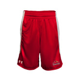 Under Armour Red Fearless Short-Lamar University w/Cardinal Head