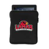 Neoprene iPad Sleeve-Lamar University w/Cardinal Head