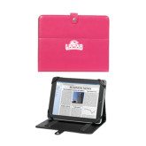 Deluxe Pink Tablet Stand-Lamar University w/Cardinal Head