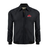 Black Players Jacket-Lamar University w/Cardinal Head