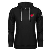 Adidas Climawarm Black Team Issue Hoodie-Cardinal Head