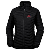 Columbia Mighty LITE Ladies Black Jacket-Primary Mark