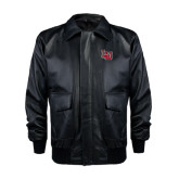 Napa Black Bomber Jacket-LU