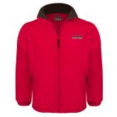 Red Survivor Jacket-Wordmark