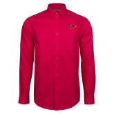 Red House Red Long Sleeve Shirt-Cardinal Head