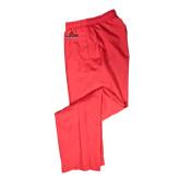 Athletic Red Wind Pant-Lamar University w/Cardinal Head