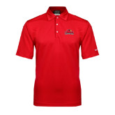 Nike Sphere Dry Red Diamond Polo-Lamar University w/Cardinal Head