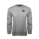 Grey Fleece Crew-LU