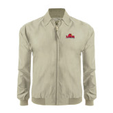Khaki Players Jacket-Lamar University w/Cardinal Head