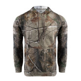 Realtree Camo Fleece Hood-Lamar University w/Cardinal Head